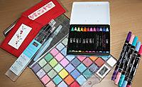 Colouring equipment watermark