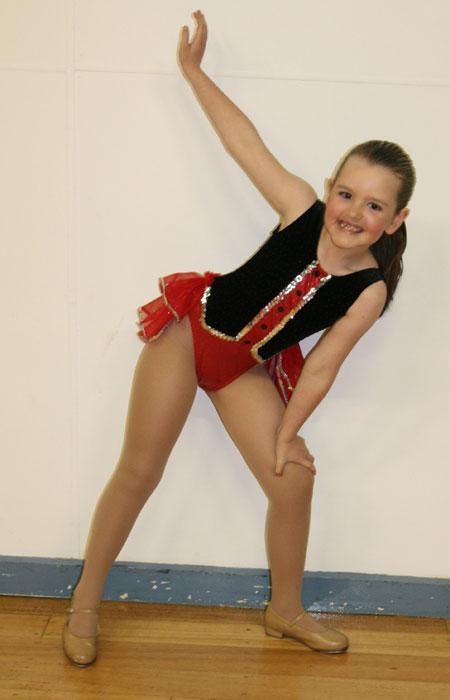 Hannah-dancing