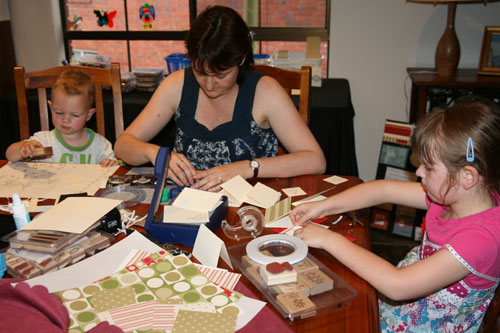 Me-and-kids-stamping