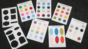 Colour samplers 200 px