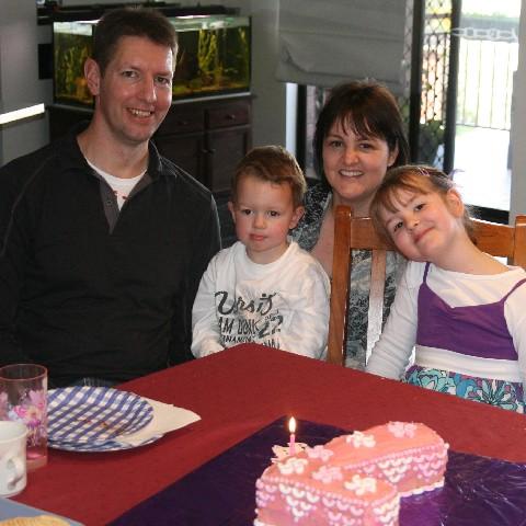 Hannah bday family