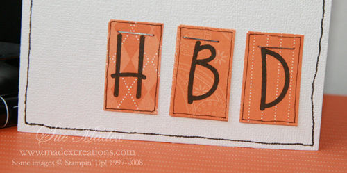 Hbd letters