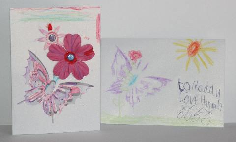 Hannah card and envelope