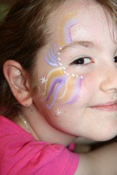 Hannah-face-paint