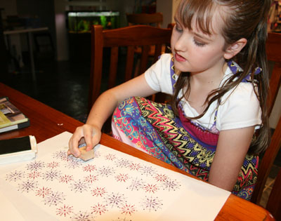 Hannah-stamping