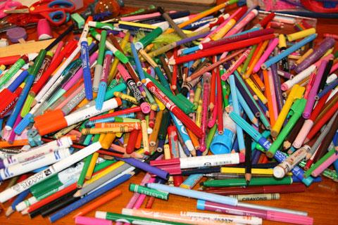 Pencils-and-textas