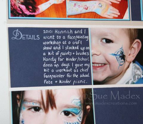 Facepainting-journaling