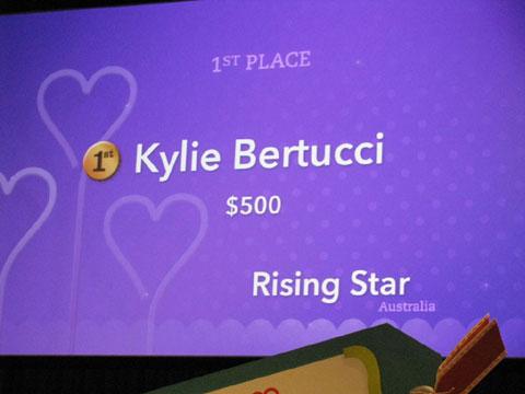 Kylie-rising-star