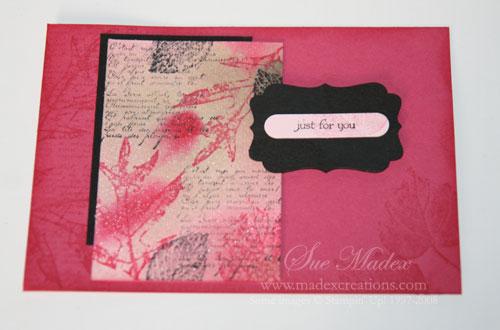 Rose-waterpaper