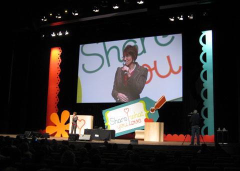 Stage-shelli