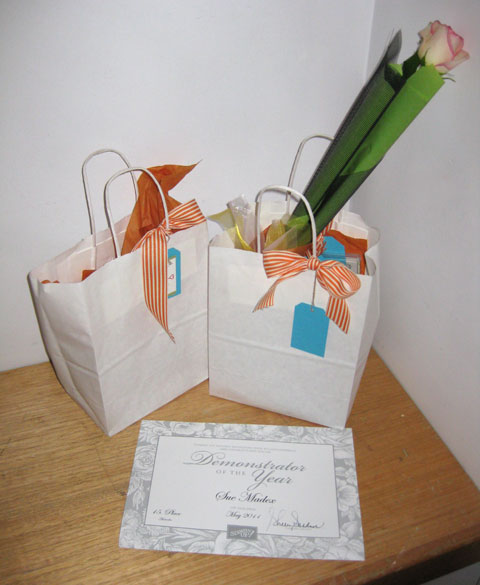 Awards-and-bags-and-rose