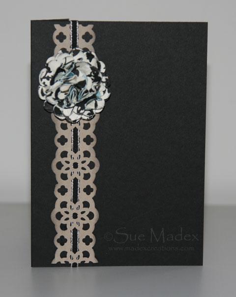 Flower-card-black