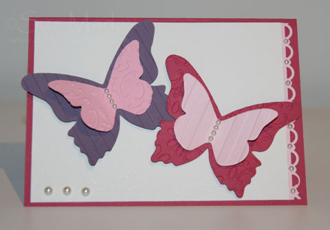 Butterflies-card