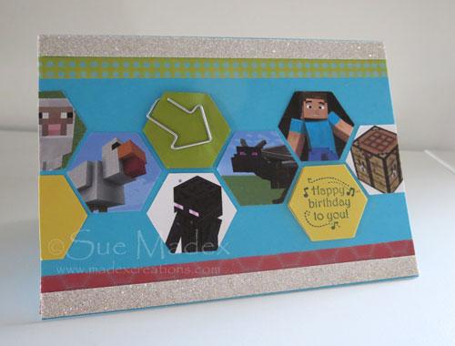 Minecraft-card