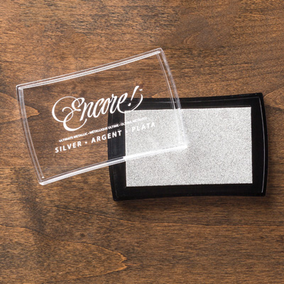 Silver encore ink pad