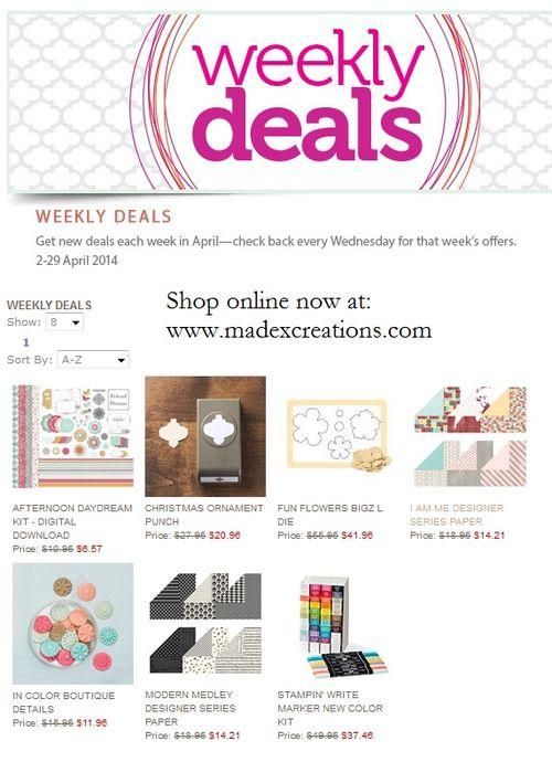 Weekly deals 4