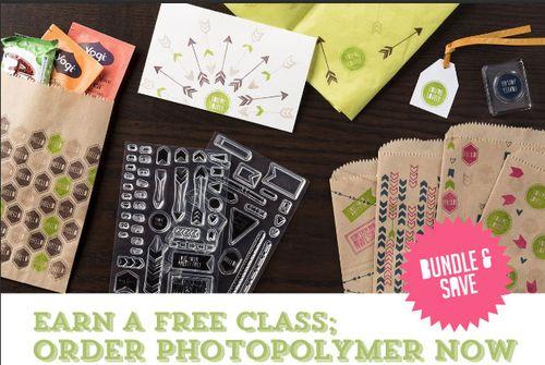 Photopolymer-flyer