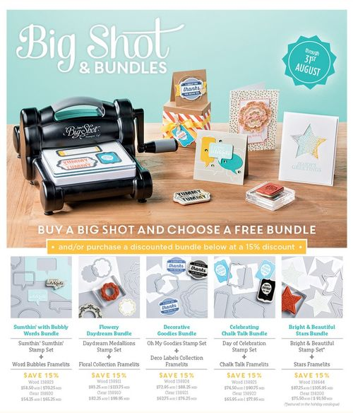 Big shot bundle special