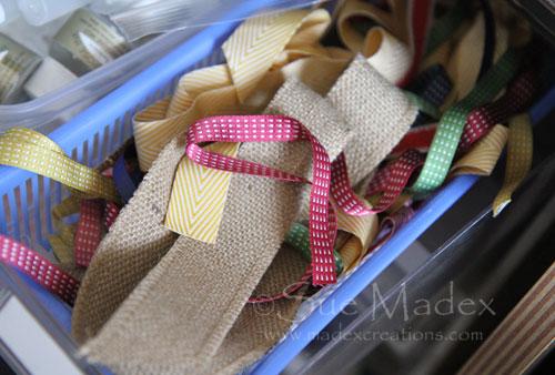Ribbon-scraps