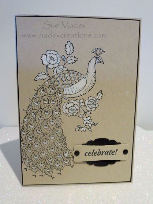 Peacock-stampin-up