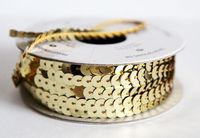 Gold-sequin-trim