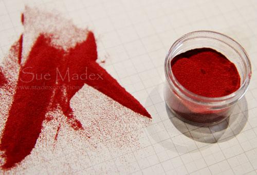Cherry-cobbler-embossing-powder
