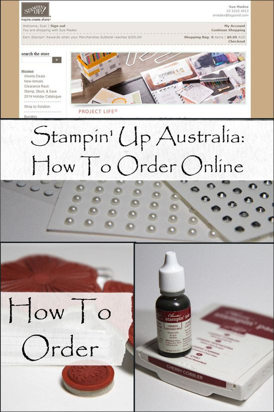 Stampin-up-australia-online-ordering