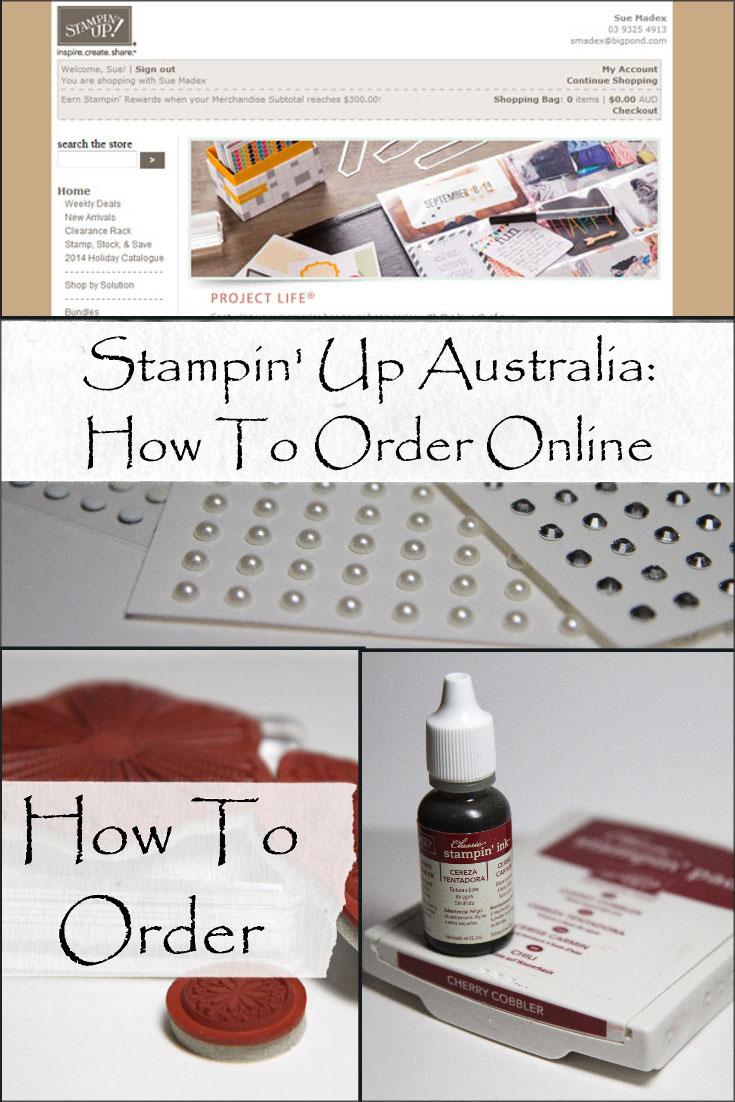 Stampin-up-australia-online-ordering