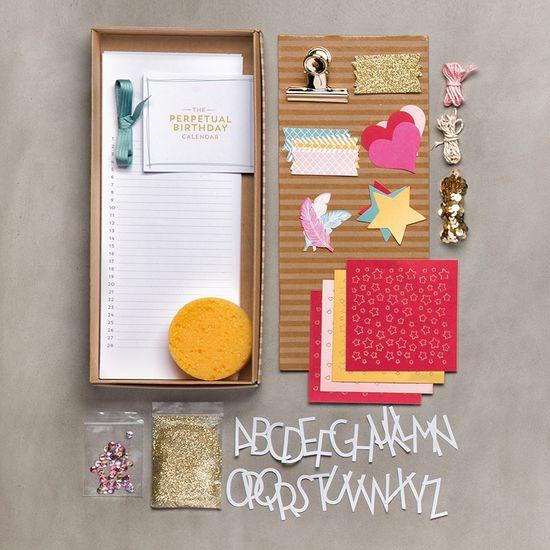 Perpetual birthday kit