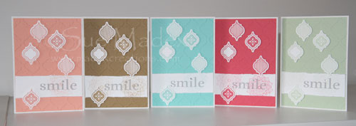 In colour cards
