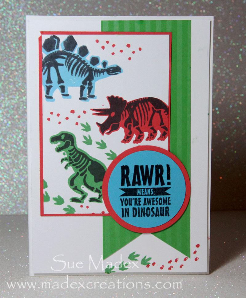Dinosaur-card