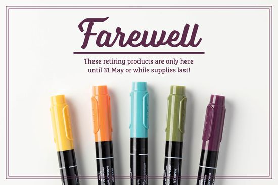 Farewell markers