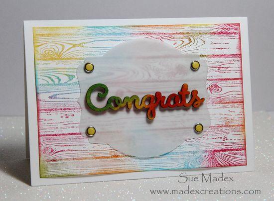 Congrats-sponged