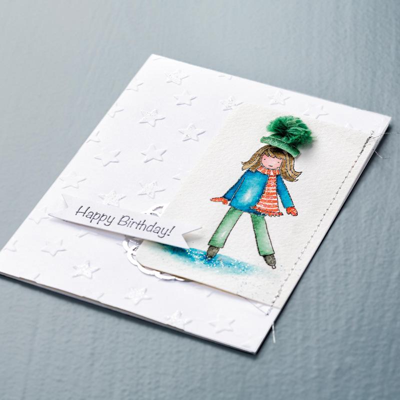Lucky stars ef card