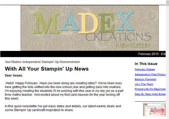 Newsletter-madex-creations