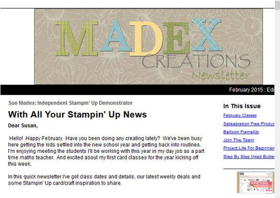 Newsletter-madex-creations