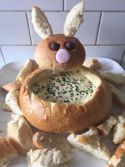 Bunny cobb loaf