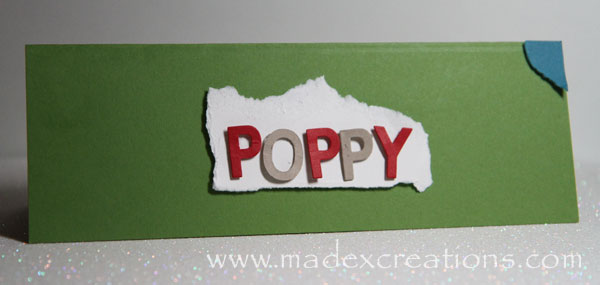 Poppy-card