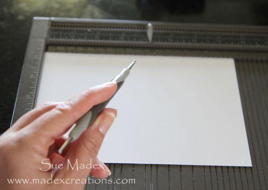 Scoring-cardstock