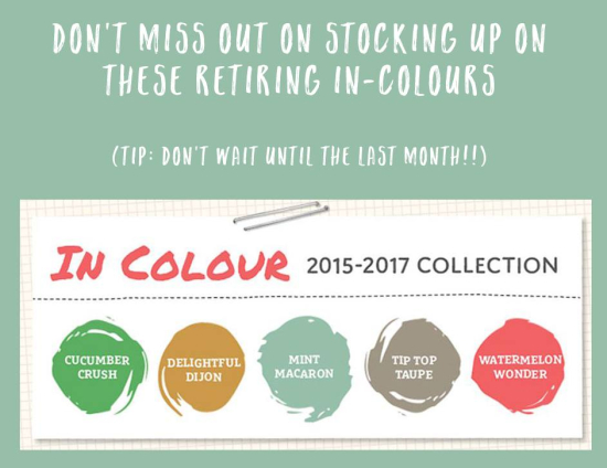 In colours dont miss out