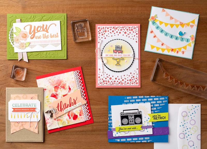 Stamp sale cards