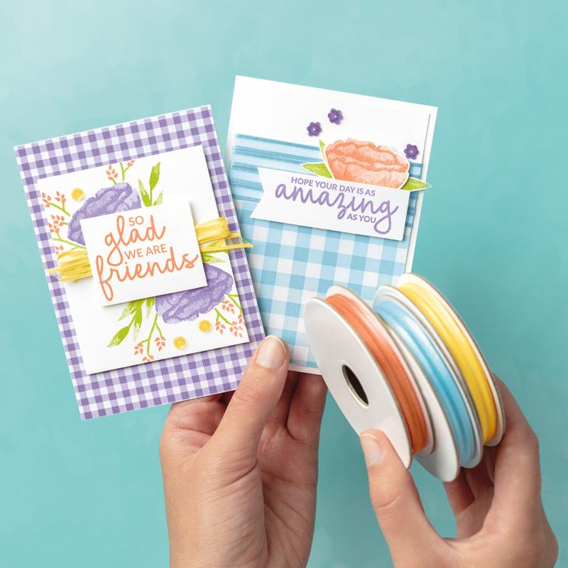 Ribbons card
