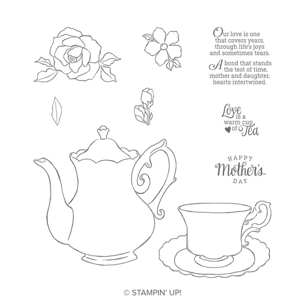 Tea together stamps