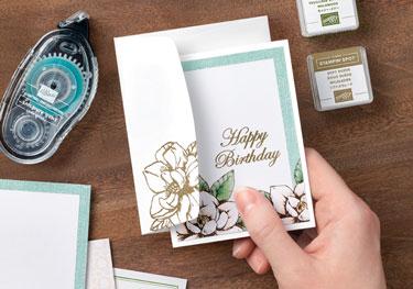 Magnolia simple card