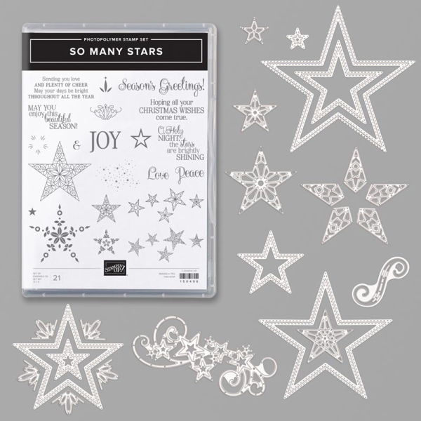 So many stars bundle stampin up