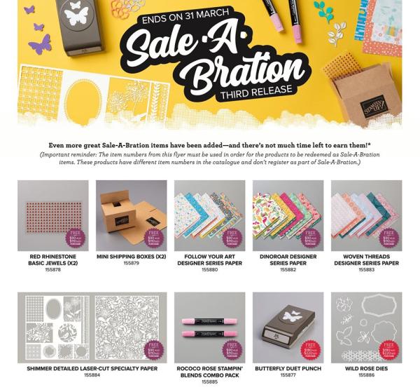 Saleabration new release