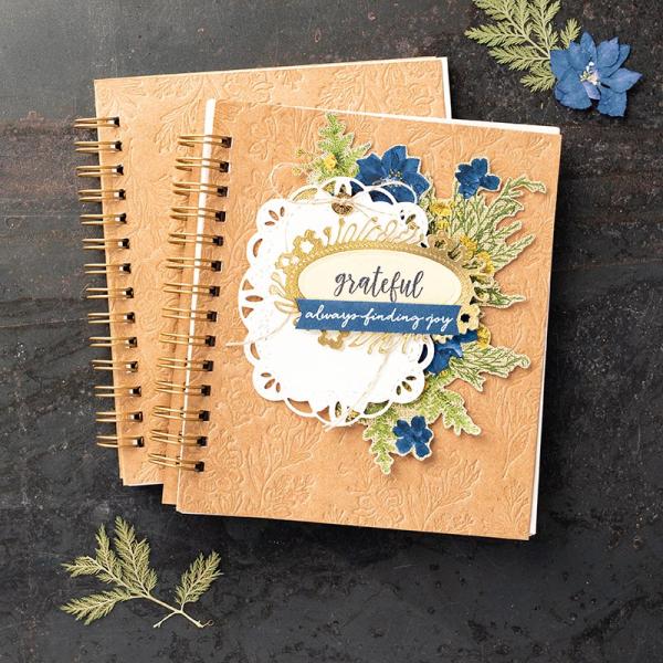 Pressed petals journal