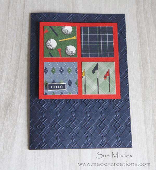 Squares-card-masculine-golf
