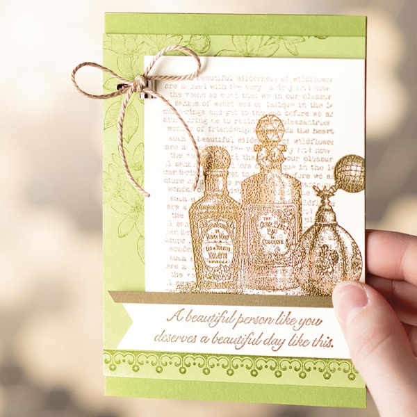 Fanciful fragrance card