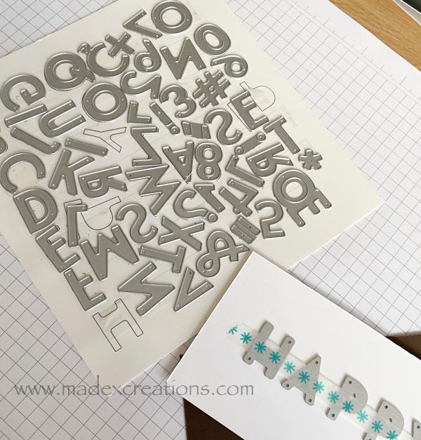 Scrapbook-letters